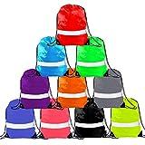 Drawstring Backpack – Drawstring Bag Reflective Cinch Sacks String Backpack Bulk Bsgs Review