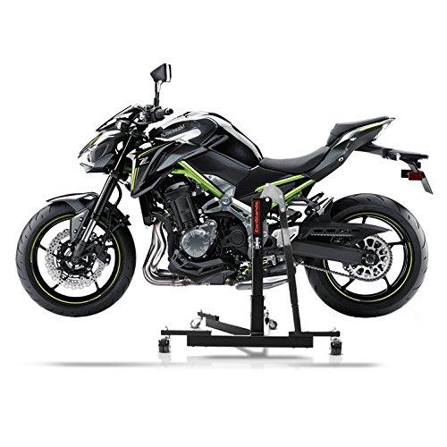 ConStands Power Evo-Zentralst/änder Kawasaki Z 900 17-19 Schwarz Motorrad Aufbockst/änder Montagest/änder Heber