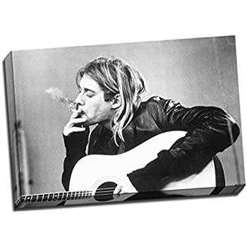 3eb95f03c37cc Amazon.com: Kurt Cobain Nirvana Signed Grunge is Dead Limited ...