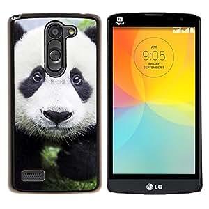 LECELL--Funda protectora / Cubierta / Piel For LG L Bello L Prime -- Bebé lindo de la panda --