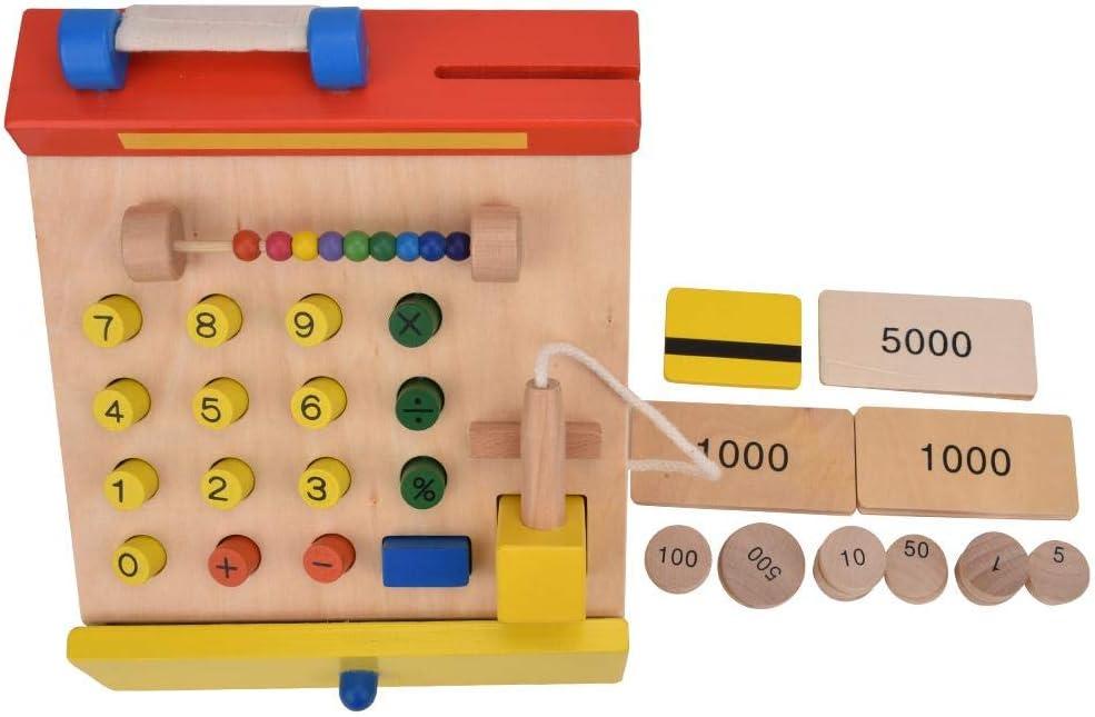 Juegos de simulación, Caja registradora de Madera Modelo cajero de ...