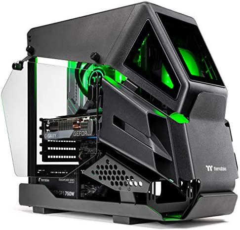 Thermaltake LCGS AH-390 AIO Liquid Cooled CPU Gaming PC (AMD Ryzen 7 5800X 8-core, ToughRam DDR4 3600Mhz 16GB RGB Memory, NVIDIA GeForce RTX 3090, 1TB NVMe Gen4 M.2, Win 10 Home) AHB2-B550-A39-LCS