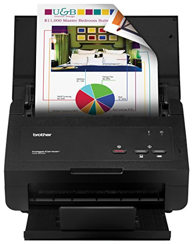 Brother ImageCenter RADS2000E High Speed Desktop Document Scanner (Certified Refurbished)