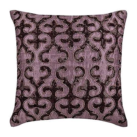 Federe Cuscini 30x30.The Homecentric Viola 30x30 Cm Art Silk Fodere Per Cuscino Per