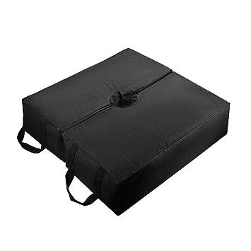 Starnearby Sombrilla de sombrilla de Patio para sombrilla con Base de Peso, Bolsa de Arena