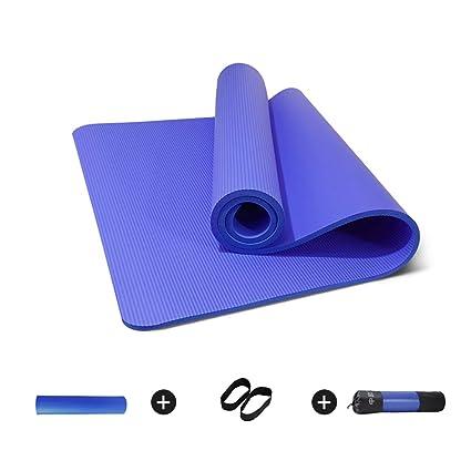 Amazon.com : CAJOLG 15mm Thick Yoga Mat Gym Mat, Yoga ...