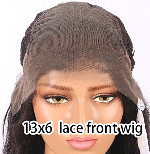 Hibaby Hair Brazilian Full Lace Human Hair Wigs Wet Wavy Beyonce Lace Front Human Hair Wigs Virgin Human Hair Lace Front Wigs Black Women(12 inch with 150% density) by Hibaby Hair (Image #2)