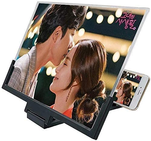 14 Inch 3D Screen Magnifier, HD Protable Movies Amplifier wi
