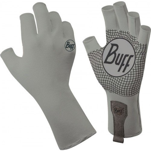 Buff Men's Sport Series Water Gloves Light Grey XS/S