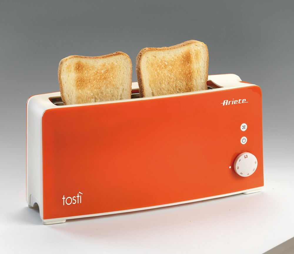 Tostapane Ariete Long Slot Toster Arancione