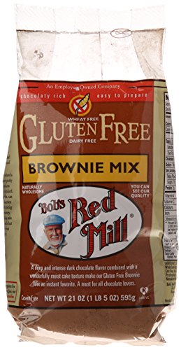 Gluten Free Brownie Mix by Bob's Red Mill, 21 oz