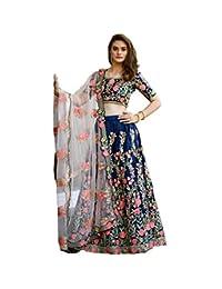 party wear lehenga choli for women indian wedding bridal embroidery work lengha trendy culture 0112