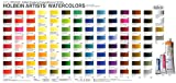 Holbein Artist's Watercolors Set of 18 5ml Tubes