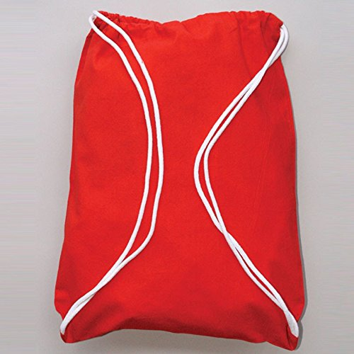( Pack of 2 ) Eco-Friendly Reusable Drawstring Bag Economical 6 oz.100% Cotton Sheeting Drawstring Bags, Cinch Bags Size 14