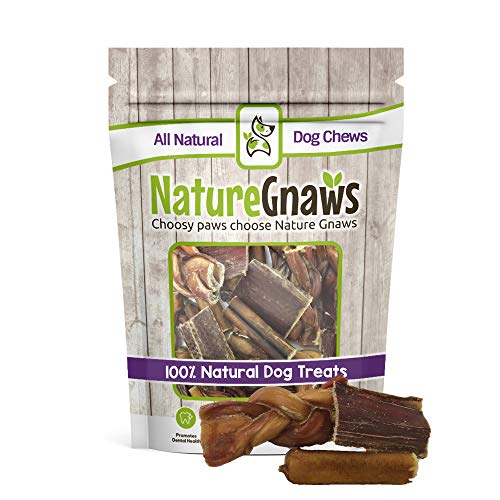 Nature Gnaws Small Bites Combo Pack 30 Count – 100 Natural Dog Chew Treats
