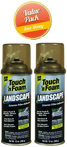 - Touch 'n Foam Landscape Repair Filler-Sealant-Adhesive