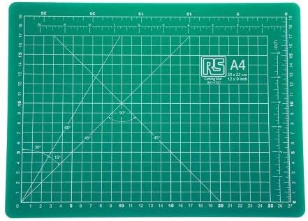 RS PRO カッティングマット PPE 作業ベンチマット 300mm x 220mm x 2.5mm 8417721