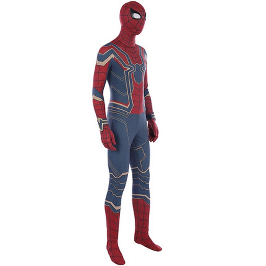 X-grand YUNMO HalFaibleeen Avengers 3 Spiderhomme Steel Battlesuits Jumpsuit Collants Cosplay (Taille   XXL)