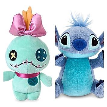 "Disney STITCH e SCRUMP Minipeluche Peluche Pequeño Set 15cm de ""Lilo y Stitch"""