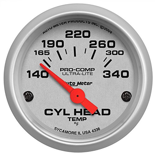 Auto Meter 4336-M Gauge Cylinder Head Temp