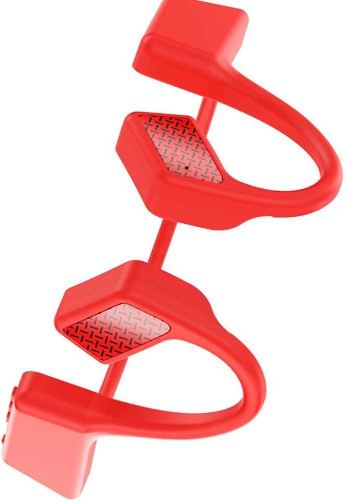 Beengeleiding Bluetooth-headset, ontwerp zonder oor Hd Stereo Waterdicht, gesplitste knopbediening is eenvoudig, geschikt voor gebruik in elke gelegenheid red