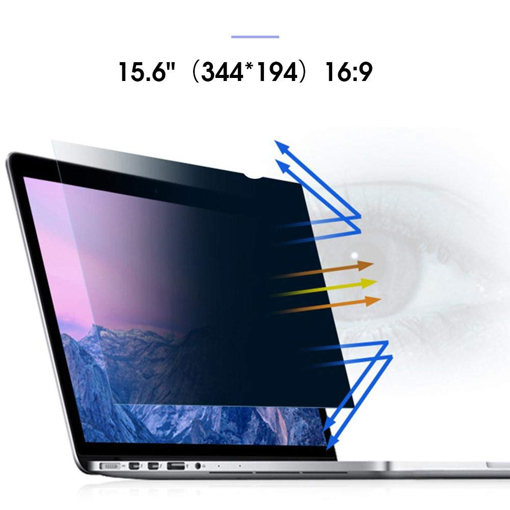 certainoly 12.5-15.6 Inch Laptop Monitor Universal Anti-Blue Light Privacy Screen Protector Film 30 /° Anti-Peeping 100 Anti-Blue Light Eye Protection Protective Film