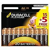 Duracell Plus Power Alkaline Batterien AA (MN1500/LR6) 15+5 Special Offer Pack