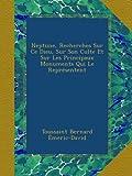 img - for Neptune, Recherches Sur Ce Dieu, Sur Son Culte Et Sur Les Principaux Monuments Qui Le Repr sentent (French Edition) book / textbook / text book