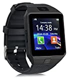 Mobicell Bluetooth Smart Watch With Camera, Sim Card and Multilanguage Support Compatible with all Android Mobile Phones