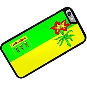 Rubber Case for iphone 6 Saskatchewan Flag region: Canada - Neonblond