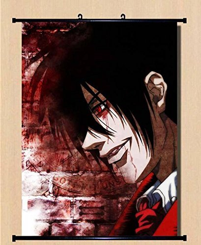Anime Hellsing Home Decor Wall Scroll Poster Fabric Painting
