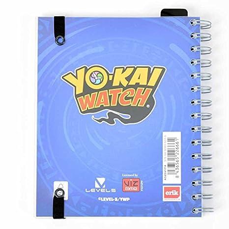 Grupo Erik Editores Yo-Kai Watch - Agenda escolar 2017/2018 semana vista