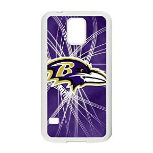 Baltimore Ravens Samsung Galaxy S5 Cell Phone Case White 218y3-122311