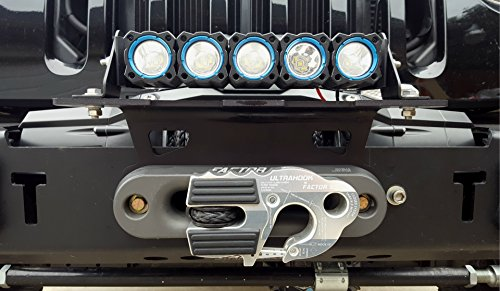 Cascadia 4x4 Lite Mount - Winch Fairlead Light Mounting Bracket (Combination Winch Mount)
