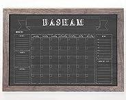Large Wall Calendar, Command Center 36x24, Family Calendar, Dry-erase calendar, chalkboard dry erase calendar,