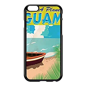 Guam Black Hard Plastic Case for iphone 5c by Nick Greenaway + FREE Crystal Clear Screen Protector