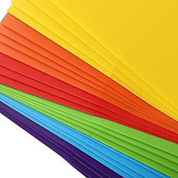 6 Assorted Color with 36pcs Category Labels Heavy Duty Folders for Office and School EOOUT 24pcs Plastic Pocket Folder Letter Size