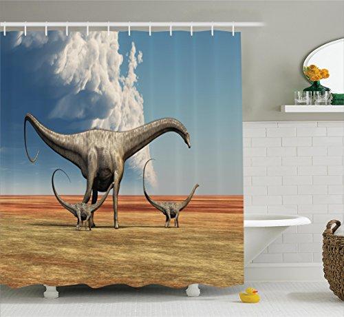 Dinosaur Ambesonne Jurassic Diplodocus Accessories