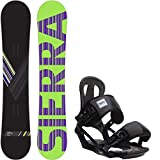 snowboard 155 package - Sierra Reverse Crew 155 Mens Snowboard + Head NX One Bindings Fits US Mens Boots Sized: 9,10,11