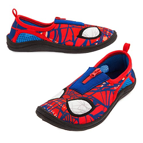 Marvel Spider-Man Swim Shoes for Kids - Beach Pool (8) (Marvel Spider Man Water)