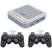 ADMOS Trådlös retro spelkonsol mini TV-videospelspelare bärbar handhållen spelkonsol