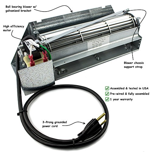 superior gas fireplace blower - 4