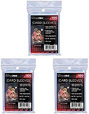 Ultra Pro Standaard Regular Soft Stuks Penny Kaartfolie Kaarthoezen Sleeves - voor verzamelkaarten zoals Pokemon Magic Sportkaarten - Standaardformaat, transparant