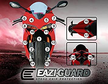 Eazi Guardtm Stone Chip Protection Ducati 899 Panigale 2013 2016