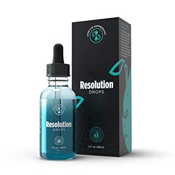 TLC Resolution Drops for Weight Loss: Effective Appetite Suppressant | 2 Fl  Oz | 60ml