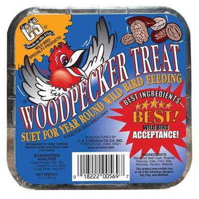 Almond Suet Cake - Woodpecker Suet Cake Treat
