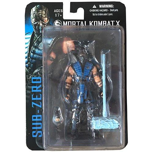 Mezco Mortal Kombat X Sub-Zero 4-Inch Action Figure