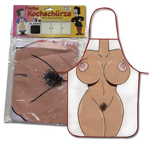 Scherzartikel Kochschürze Grillschürze Frauen - Körper