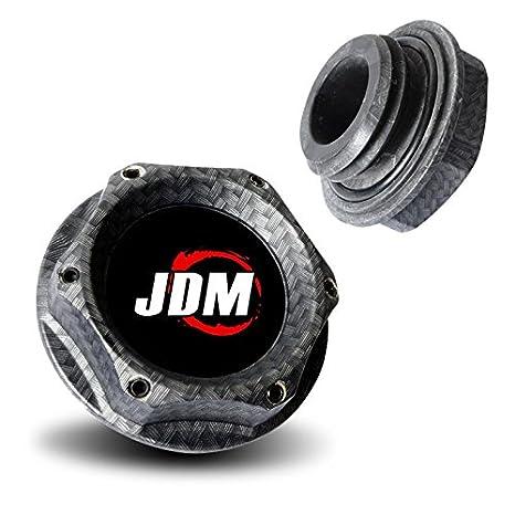 Mazda JDM aluminio billet tapa de aceite de motor de carbono aspecto RX-7 RX-8 MX-3 MX-6 Miata 3 6: Amazon.es: Coche y moto