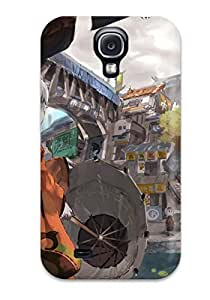New Premium Flip Case Cover Fantasy Art Artwork Anime Umbrellas Skin Case For Galaxy S4